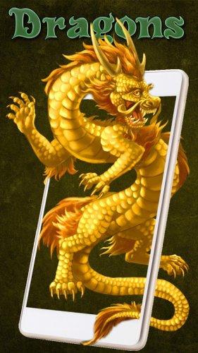 Golden Dragon Live Wallpaper 1 1 5 Download Android Apk Aptoide