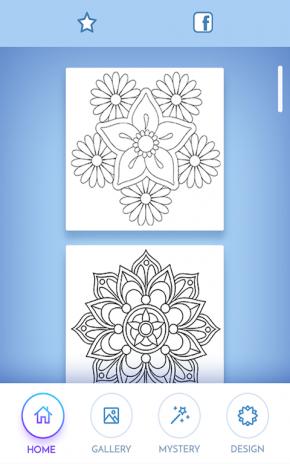 çiçekler Mandala Boyama Kitabı 400 Android Aptoide Için