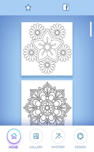 Cicekler Mandala Boyama Kitabi 6 9 2 Android Apk Sini Indir Aptoide