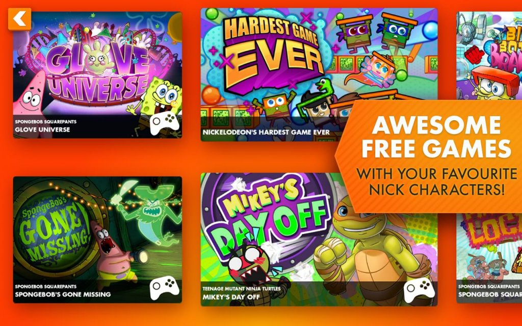 Nickelodeon Shows, Games & Apps for iPhone, Android, Roku ...