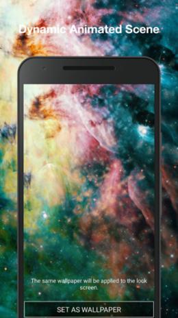 Galaxy Nebula Live Wallpaper Pro 10 Descargar Apk Para