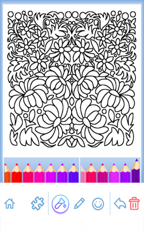 Coloring Book For Adults Screenshot 5