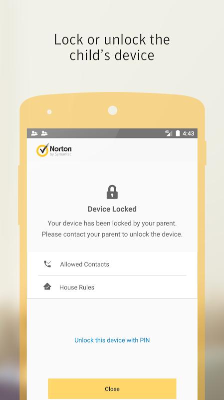 Norton Family parental control screenshot 3