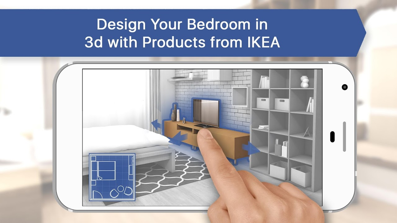 3d Bedroom For Ikea Room Interior Design Planner Captura De Tela 1 ... Part 28