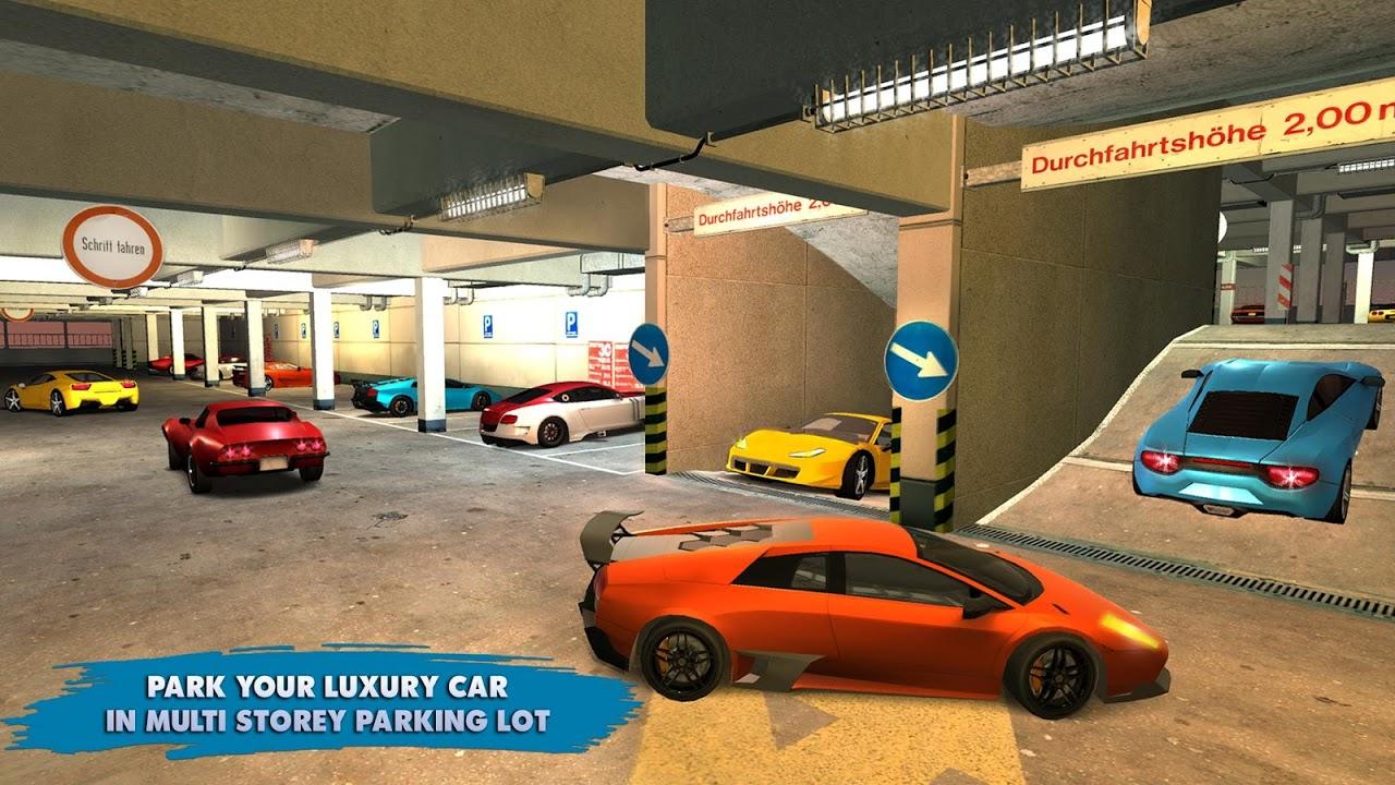 Multi Level Smart Car Parking Mania Parking Games Captura De Tela 1 ...