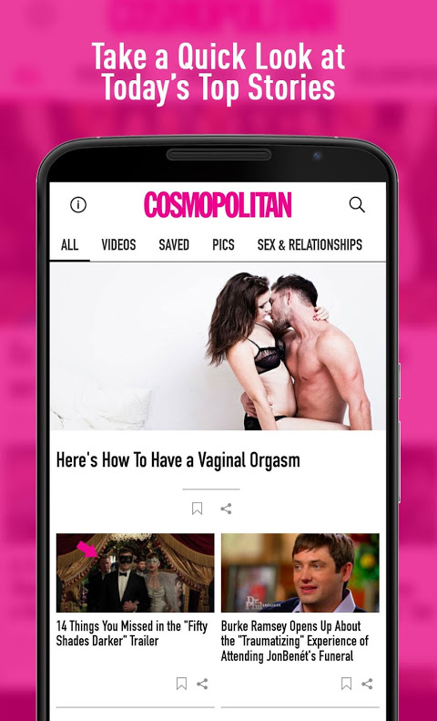 Cosmo sex and dating