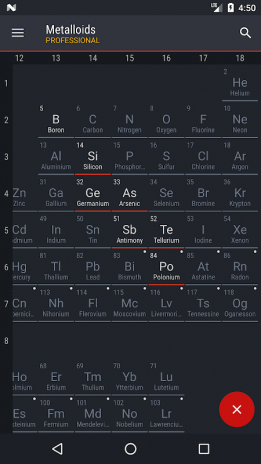 Periodic table 2018 pro 0154 download apk for android aptoide periodic table 2018 pro screenshot 8 urtaz Image collections