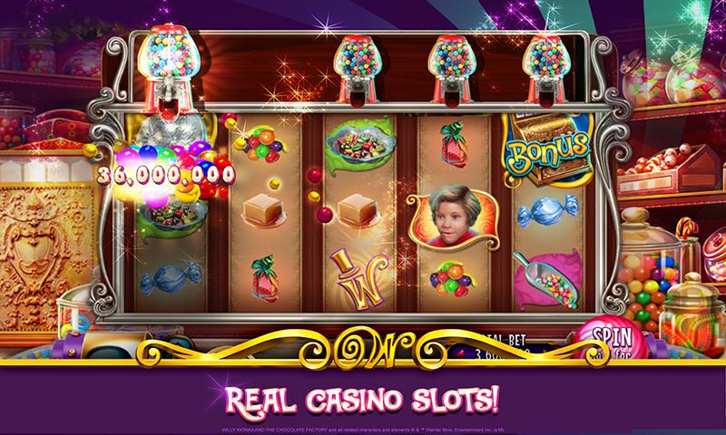 charlie and the chocolate factory slot machine online
