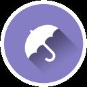 Minimal Umbrella - Icon Pack