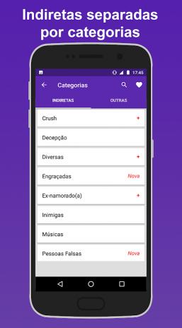 Frases De Indiretas 146 Download Apk Voor Android Aptoide