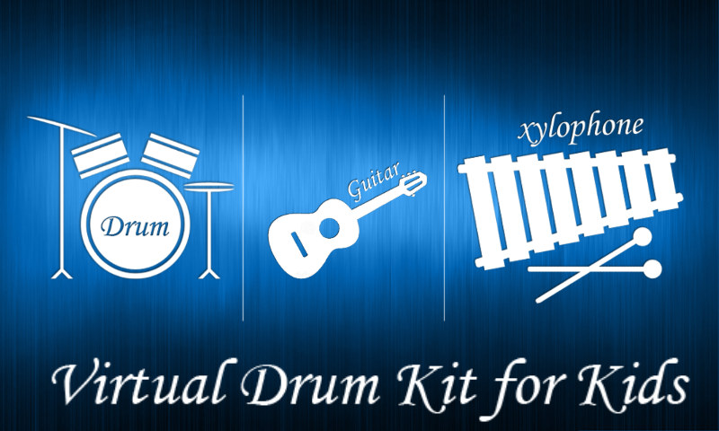 Virtual Drum Kit for Kids screenshot 1