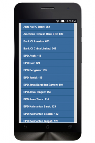 Kode Bank Indonesia 1 6 Download Android Apk Aptoide