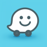Waze - GPS, Maps, Traffic Alerts & Sat Nav Icon