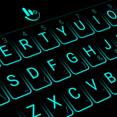 Neon Blue Keyboard Theme 6 6 23 2019 Download APK for Android - Aptoide