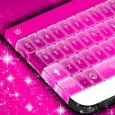 Pink Glow Theme for Keyboards