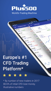 Plus500: CFD Online Trading on Forex and Stocks screenshot 1