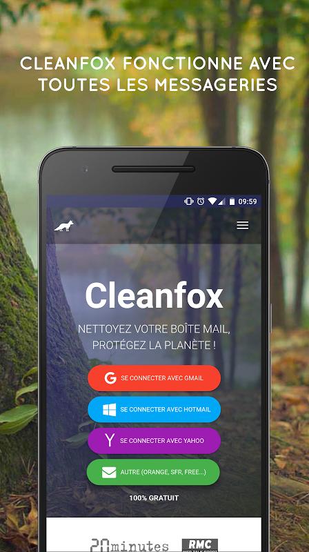 Cleanfox - Clean Your Inbox screenshot 1