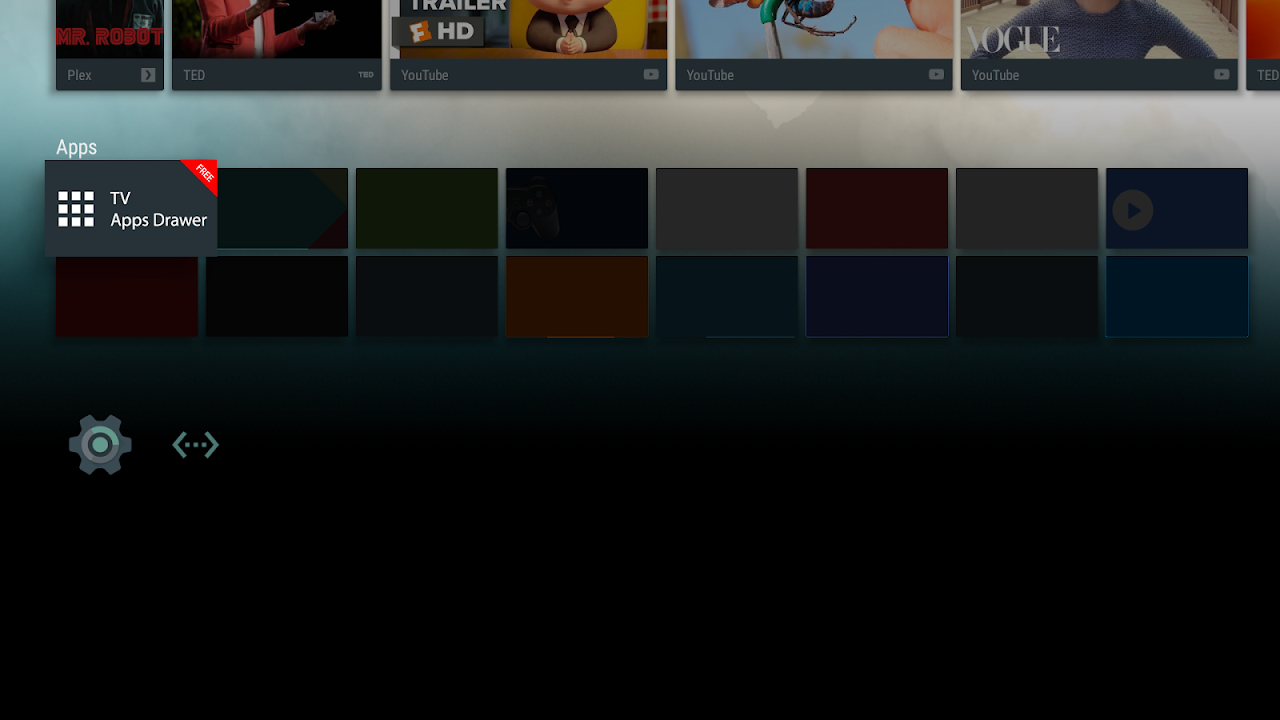 TV Apps Drawer Free 1 0 Download APK para Android   Aptoide