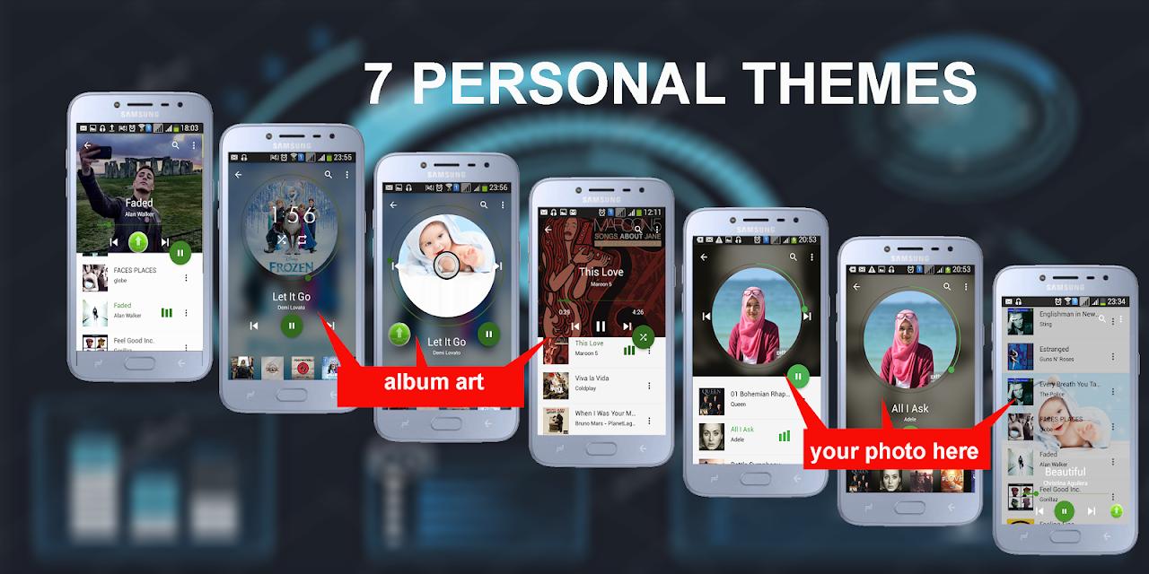 ★Music Player, MP3 Audio Player- Best App 2018 screenshot 1