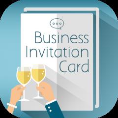 Invitación Formal Negocio Fabricante De Tarjetas 2 0