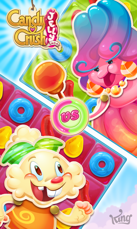 Candy Crush Jelly Saga screenshot 1