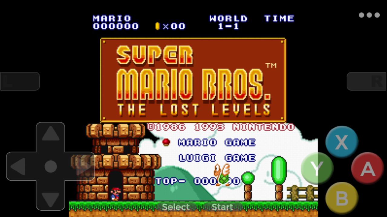 Super Mari All Star - Mari Collection Games screenshot 1