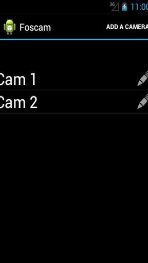 Foscam & Heden cameras Screenshot