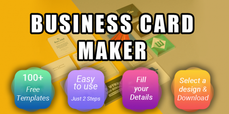 business card maker visiting card maker photo logo screenshot 9