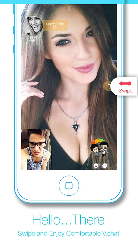 Android video chat strangers