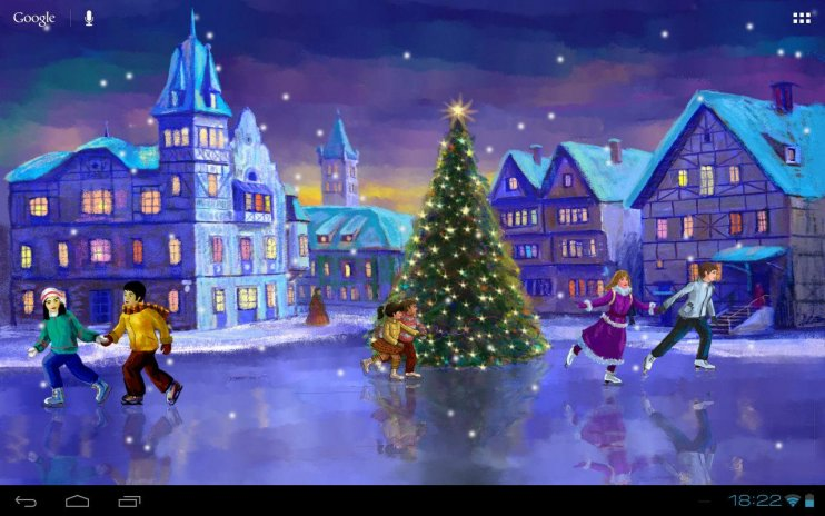 Live Wallpaper Weihnachten.Weihnachten Rink Livewallpaper 2 9 6 Laden Sie Apk Fur