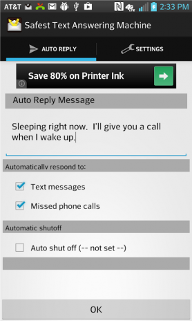 Safest Text Auto Reply 3 13 01 Download APK for Android - Aptoide