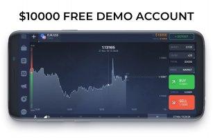 IQ Option broker: trade forex, CFD�s, bitcoin Screen