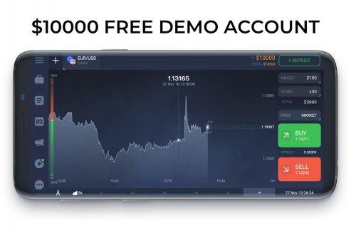IQ Option broker: trade forex, CFD�s, bitcoin screenshot 1