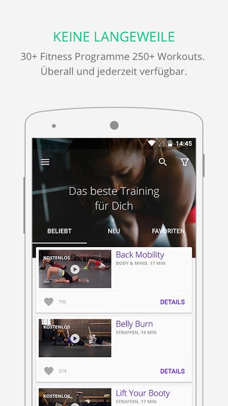Gymondo - Fitness Kurse screenshot 2