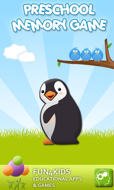 Kids Preschool Memory Game screenshot 1