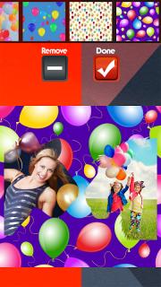 Balloons Photo Collage screenshot 4