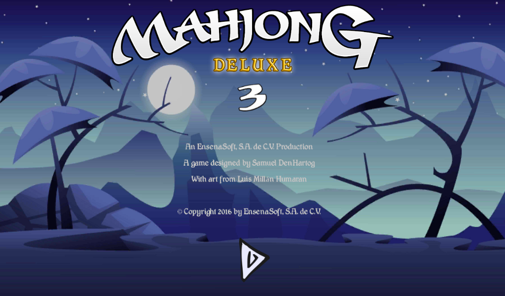 Mahjong Deluxe 3 screenshot 1