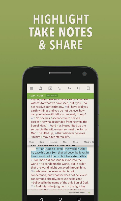 Bible by Olive Tree screenshot 2