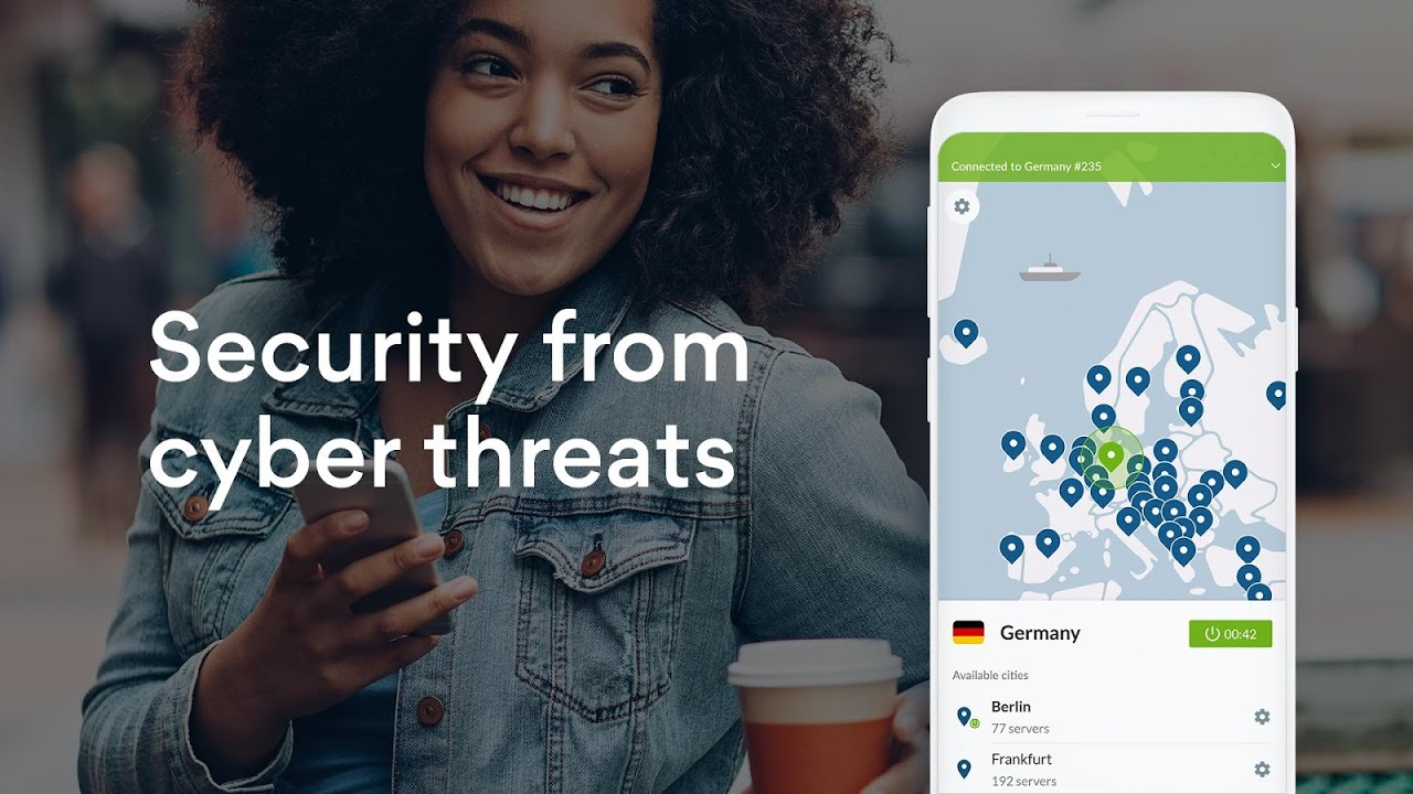 VPN: Fast, Secure & Unlimited NordVPN screenshot 1