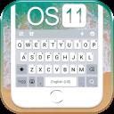 Os11 tema do teclado