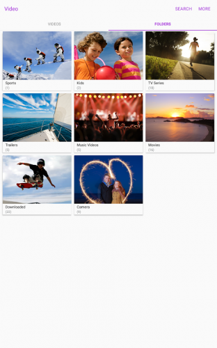 Samsung Video Library screenshot 7