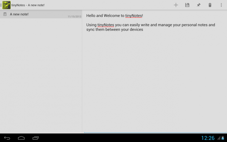tinyNotes Notepad 2 0 12 Download APK for Android - Aptoide