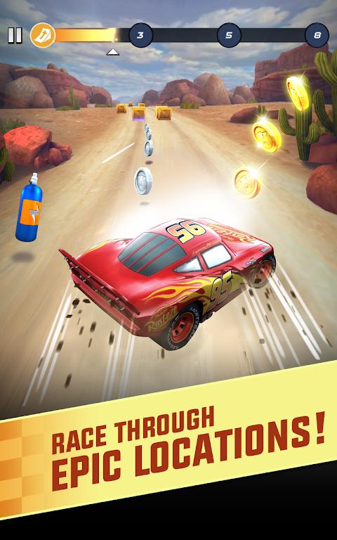 Cars: Lightning League screenshot 1