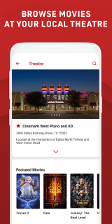 Cinemark Theatres screenshot 4