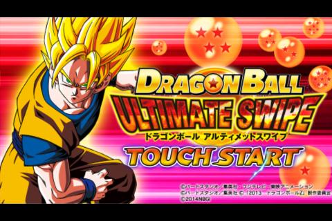 dragon ball ultimate swipe v1.2 apk+data offline