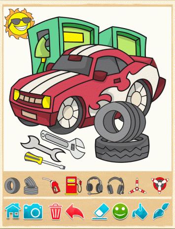 Ausmalbilder Für Kinder Autos 9 2 4 Laden Sie Apk Für