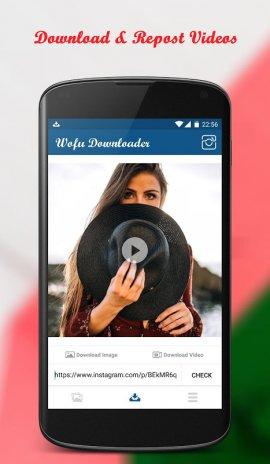 Wofu Downloader for Instagram, Video & Photo 2 6 Download APK for