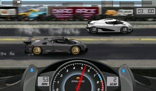 Drag Racing screenshot 2