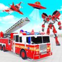 911 Feuerwehrauto Real Robot Transformation Spiel