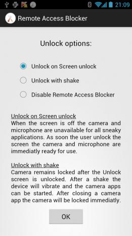 Remote Access Blocker 1 56 Télécharger l'APK pour Android